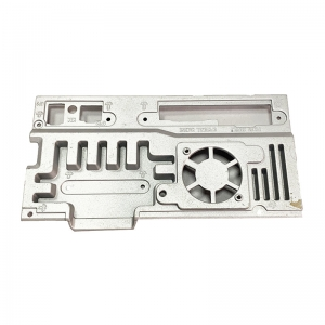 Aluminum die-casting heat dissipation back plate