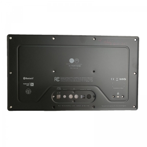 Audio back panel